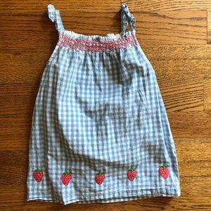 Mini Boden Strawberry Dress